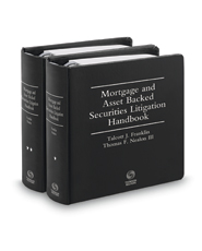 Mortgage And Asset Backed Securities Litigation Handbook